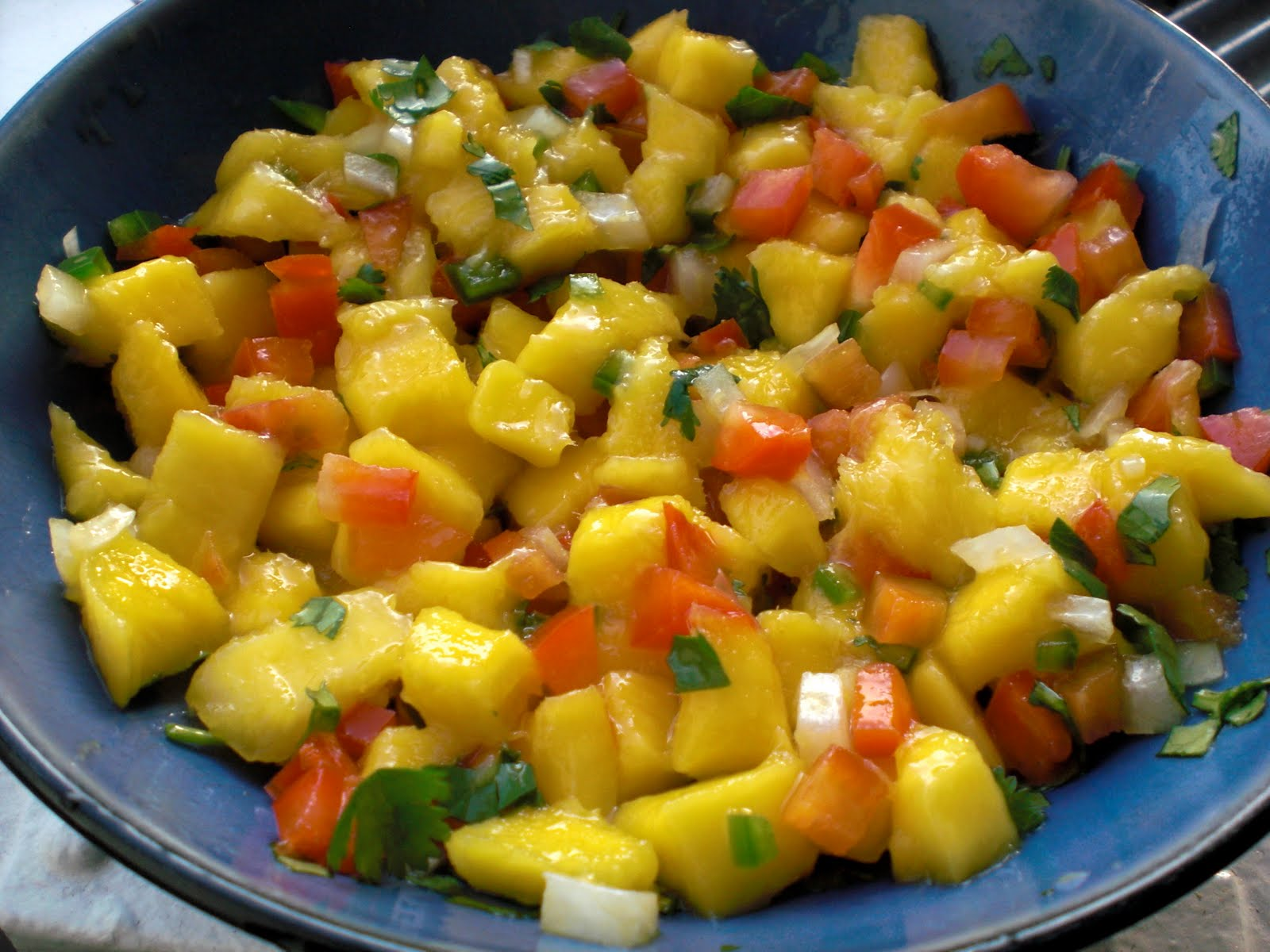 Spicy Mahi Mahi with Fresh Mango Salsa - Get Off Your Tush and Cook!