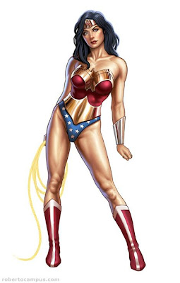 Wonder Woman as she was (and no doubt soon will be again!)
