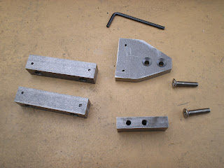 Knurling tool parts, work in progress