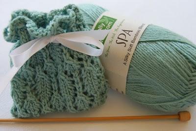 Knitted Sachet Pattern : Junie Moon: Lace Sachet Knitting