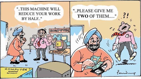 Sardar Cartoons Jokes Sardar ji Cartoon