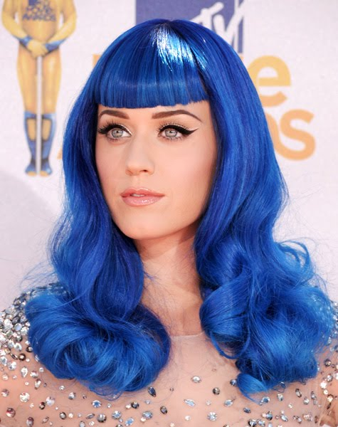 blue wig fun katy perry blue hair