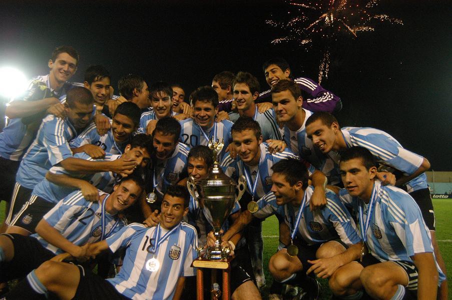 Seleção Argentina sub-20 vaga na  Sul-americano