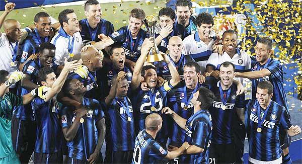 Inter de Milão goleia e é tri do Mundial