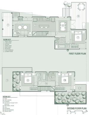 V i s u a l v a m p bed tango new orleans the for Modern shotgun house plans