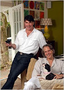 Bryan Batt, Tom Cianfichi , and Peggy who own Hazelnut - click here for Bryan's site