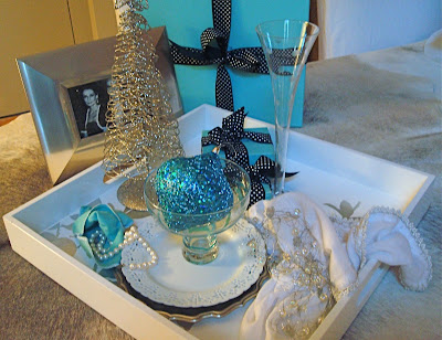 v i s u a l * v a m p *: Glam Holiday Breakfast Tray From Pier One