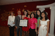 Joanne Kelley Utt as GFI Youth Leader Awardee 2009
