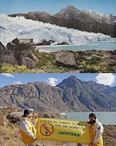 Comparación del glaciar 1930-2008