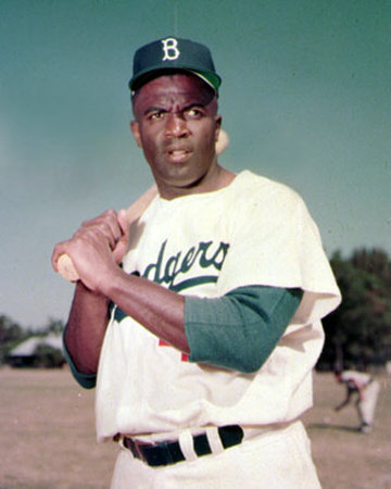 the first colored athlete in the major leagues jack roosevelt jackie robinson The film tells the story of jack roosevelt robinson, who rose from humble origins  to break baseball's color barrier and waged a fierce lifelong battle for first-class  citizenship for all african americans that transcends even his remarkable athletic   racism long before he integrated major league baseball.