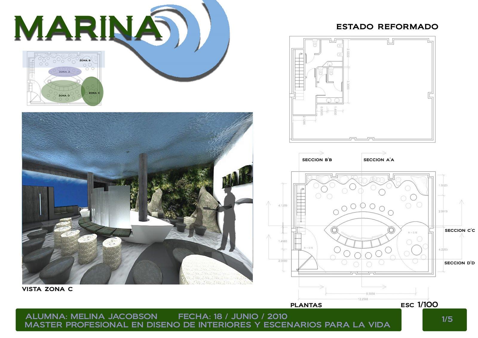 Arq melina jacobson proyecto final dise o de interiores - Proyecto diseno de interiores ...