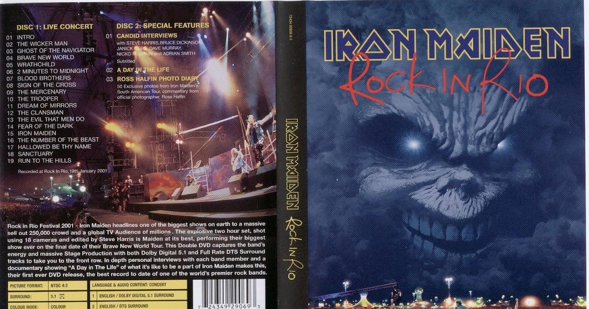 Descargar disco rock in rio iron maiden