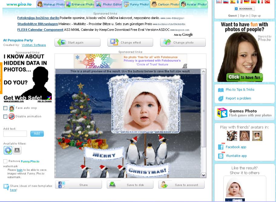 Otročarije: Online programi za pošljanje e-voščilnic, urejanje