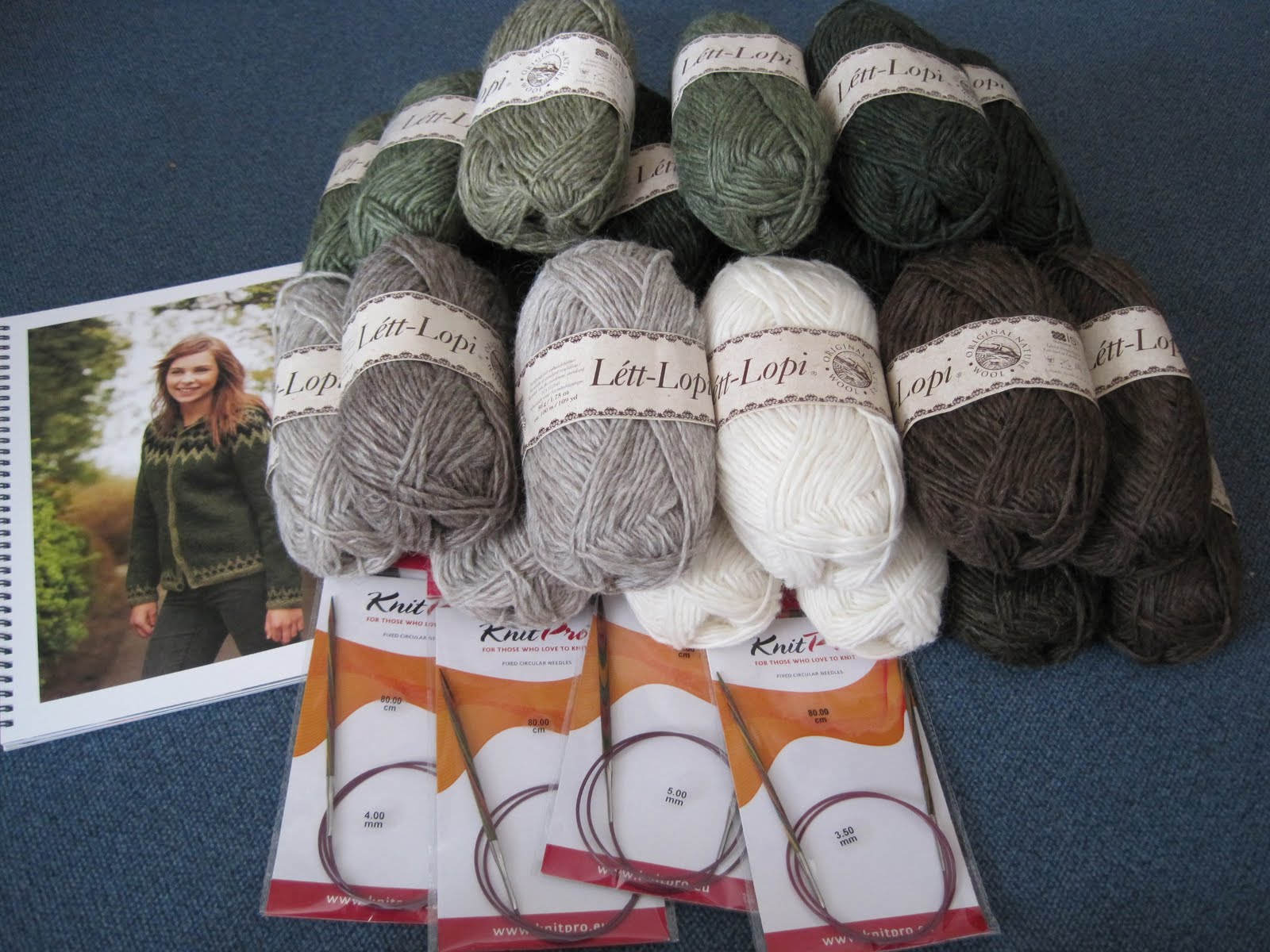 Free knitting patterns for Icelandic sweaters