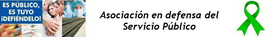 Asociación en defensa del Servicio Público