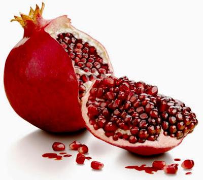 Το ρόδι ένα φρούτο εντυπωσιακό σε