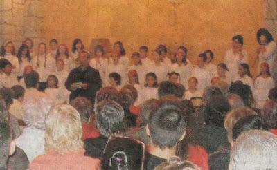 Schola Cantharel en concert à l'Eglise de Boucieu-le-Roi