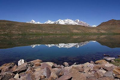 a lake in lahaul and spiti