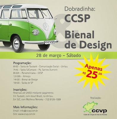 Clube de Criação do Vale do Paraíba organiza excursão. Blog Publiloucos.