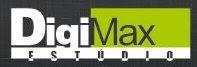 Logotipo do Digimax Estúdio de São José dos Campos. Blog Publiloucos.