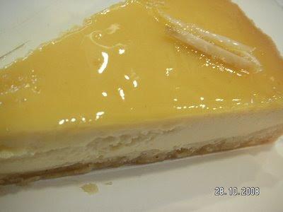 Limonlu Cheesecake (New Yorker Tarzı)