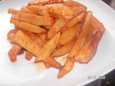 Acılı Patates Kızartması (Nefissss)