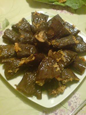 Etli Kuru Patlıcan Dolması (Naris'ten)
