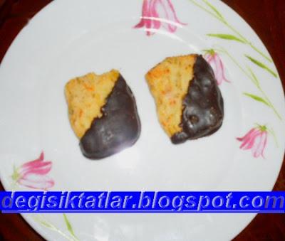 Zencefilli Çikolatalı Fıstıklı Kurabiye