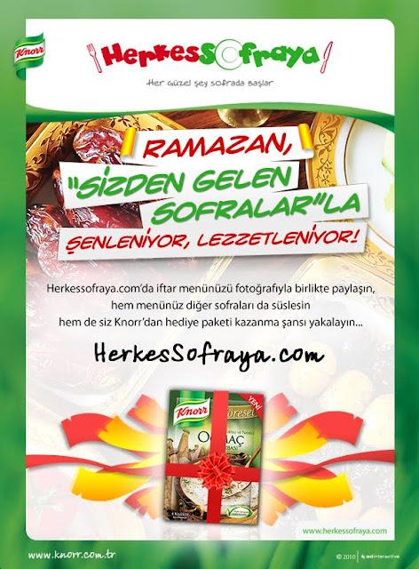 """Knorr """" Sizden Gelen Ramazan Sofralarını Bekliyor """" Knorr İle Herkes Sofraya.."""