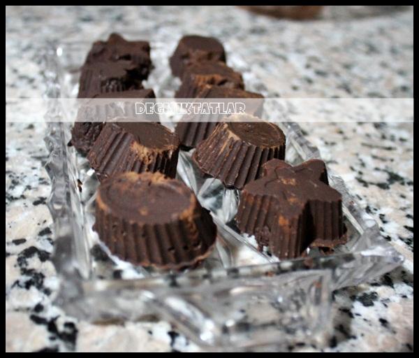 İntense Tadında Kekli Çikolata