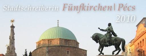 Stadtschreiberin Fünfkirchen/Pécs 2010