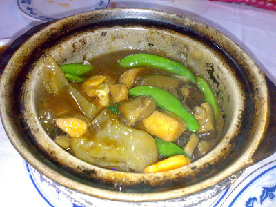 Sea Cucumber & Tofu