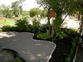 Trädgård Grus : Alen trädgård grusad plats