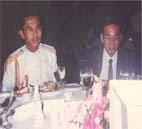 Saifuddin bersama Zakaria