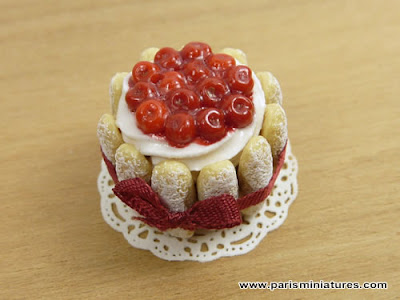 Miniature Cherry Charlotte