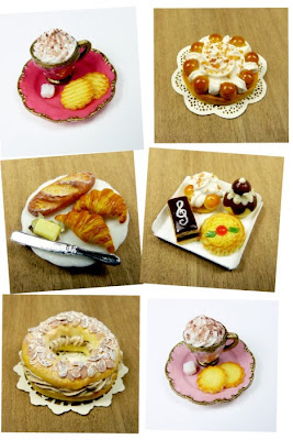 Miniature Food Collage From Emmaflam and Miniman - Paris Miniatures