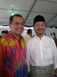 bersama calon ketua pemuda malaysia