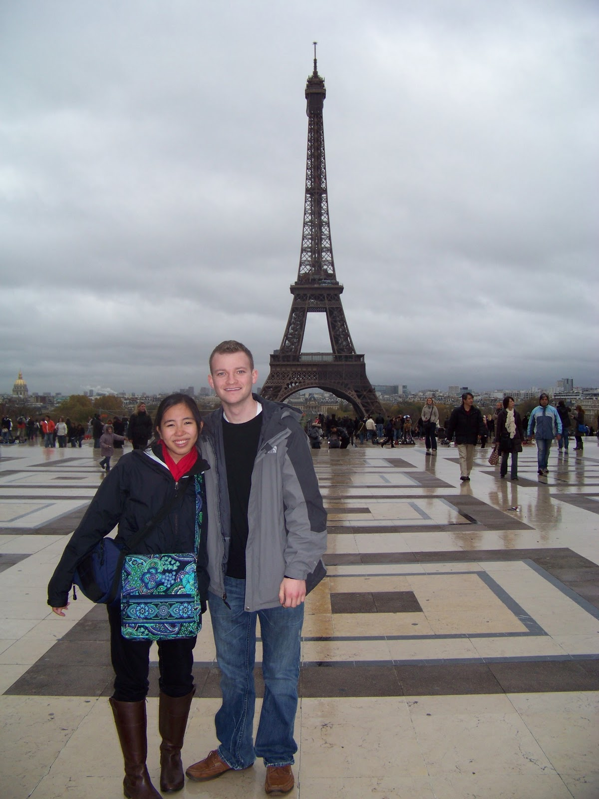 Rue Mcclanahan Casket Kelsey and i in front of the eifel towerRue Mcclanahan Casket