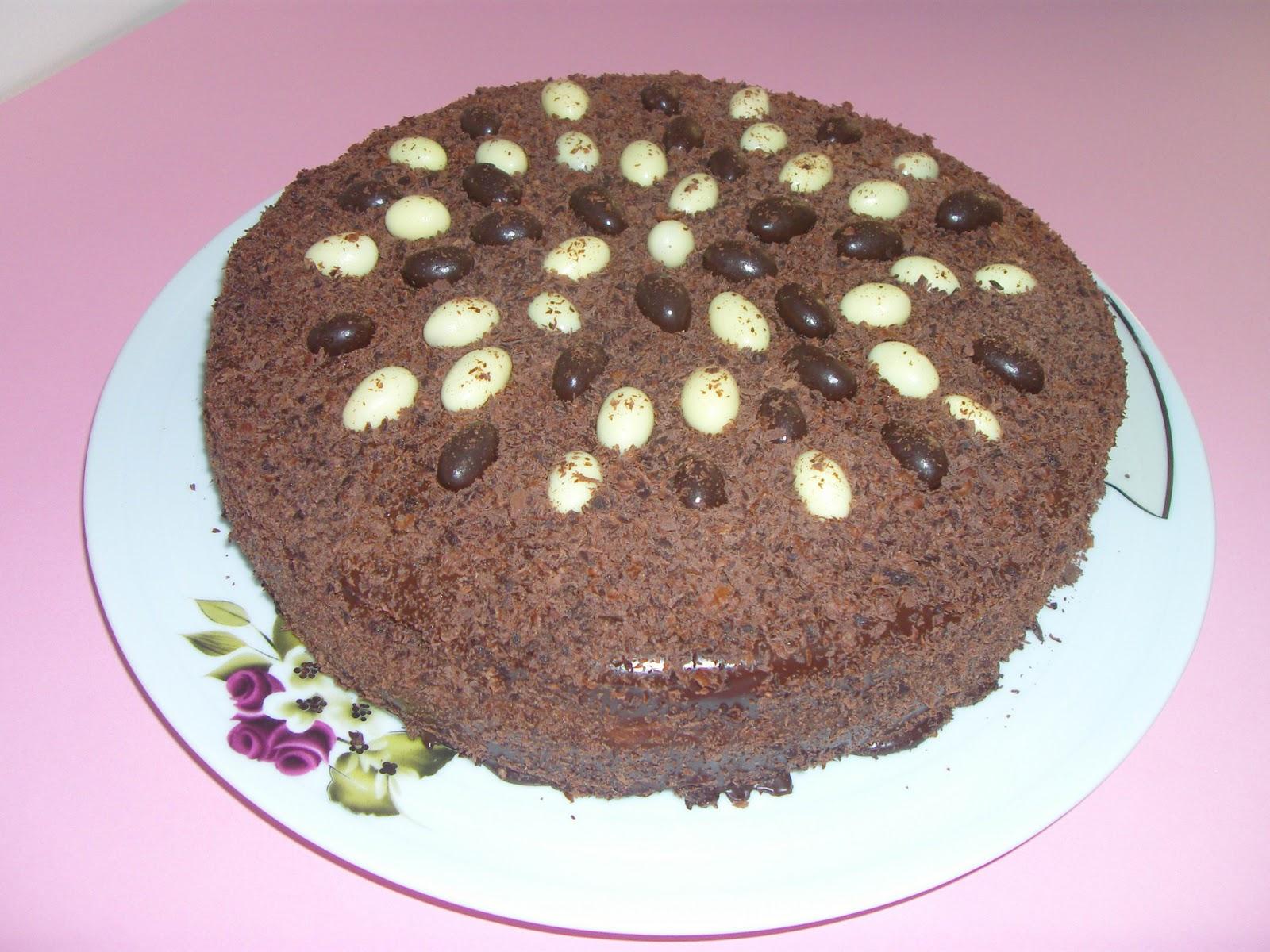 Çikolatalı Fıstıklı Pasta Tarifi
