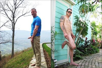 naked body art male