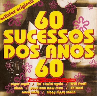 Capa 60 Sucessos Dos Anos 60 | músicas