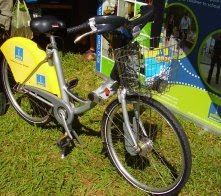 Brisbane City cycle bike