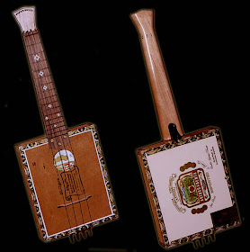 Concert Cigar Box Ukulele