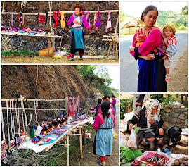 Esta tribo no Norte da Thailandia faz coisas lindas