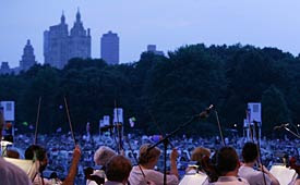 Philharmonic at Central Park 2007