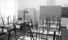Las aulas vacías.