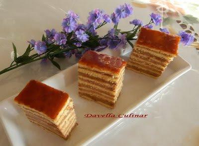 Gâteau DOBOS / Prajitura DOBOS