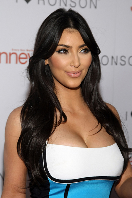 kim kardashian hair care