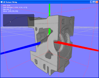 Transfer function object based texture slicing