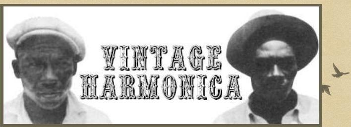 Vintage Harmonica